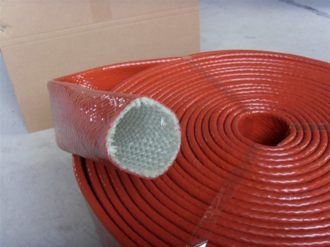Fiberglass Sleeving with Rubber