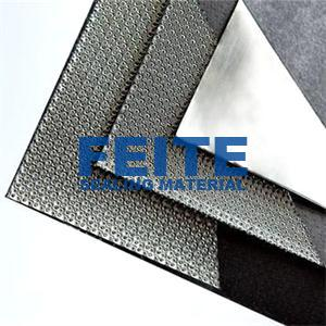 Reinforced Graphite Sheet With Wire Mesh